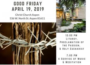 GOOD FRIDAY SERVICE @ Christ Episcopal Church